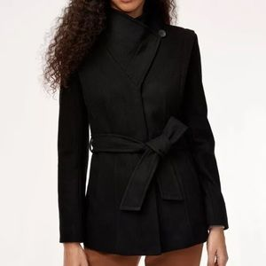 Aritzia Babaton Spencer Wool Coat - No Belt